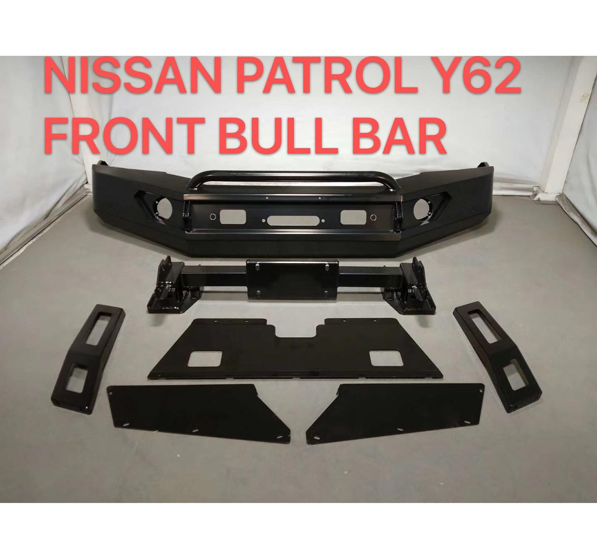 Bull Bar for Nissan Patrol Y62 Featured Image