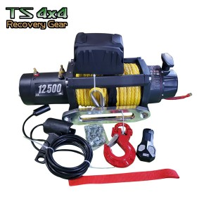 Recovery Winch 9500lbs with synthetic rope