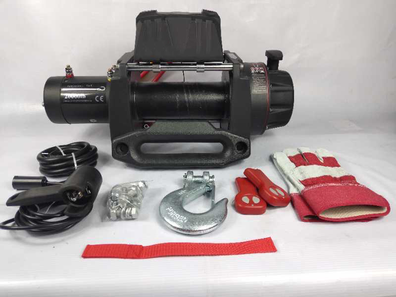 12V 20000Lbs /10ton Power Winch Featured Image