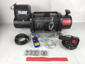 Heavy duty 15000 lbs 4×4 truck winch