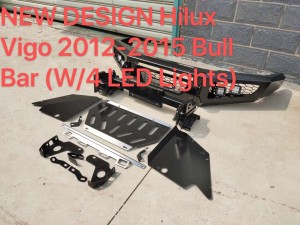 NEW design bull bar for Hilux Vigo 2012~2015 (w/4LED lights)