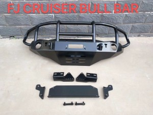 4×4 Toyota FJ Cruiser Steel Bull Bar Front Bumper with skid plate