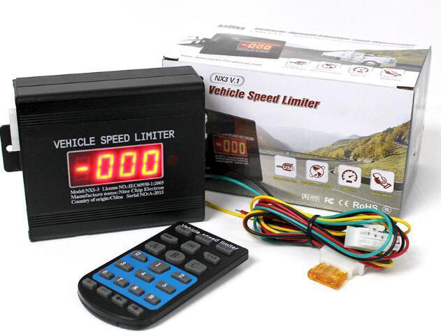 Professional Safety overspeed limit alarm vehicle truck speed limiter Featured Image