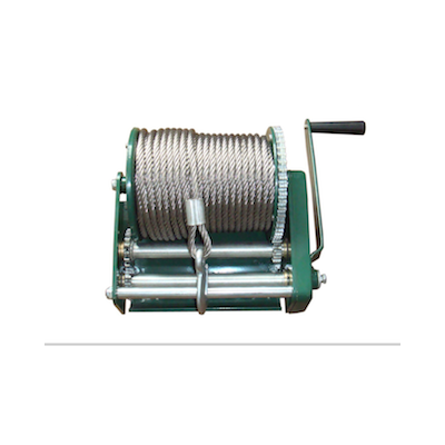 Hand Winch 3000lbs with steel cable