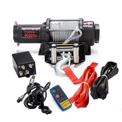 High Performance ATV Winch 4500lbs