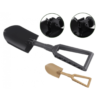 Military Foldable Carbon Steel Spade