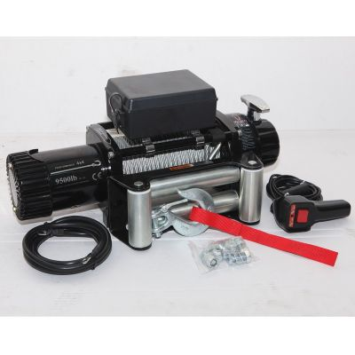 9500lb Electric Winch with steel cable