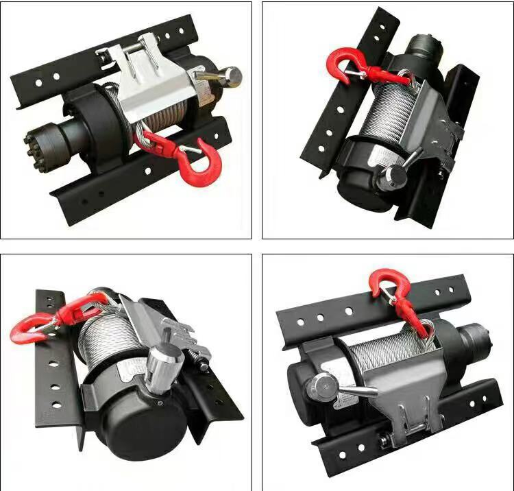 Hydraulic Capstan Winch for Truck Trailer Featured Image