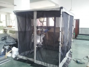 Side Awning with Mosquito Net 2.5m x2.5m