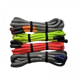 Kinetic Recovery Rope Towing Rope with soft eye loops
