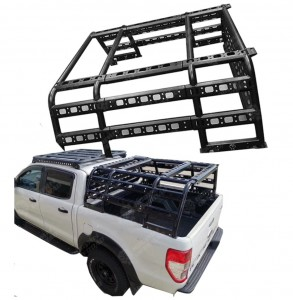 Adjustable Pickup Truck Bed Rack